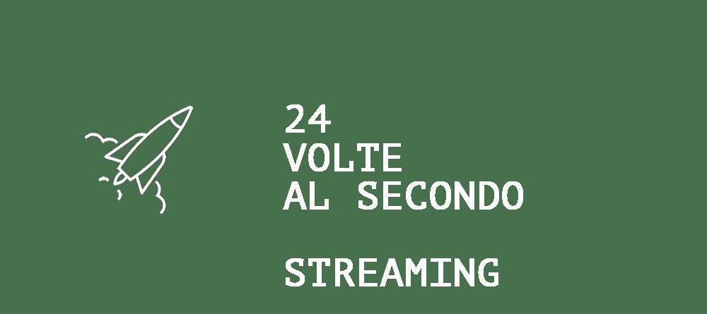 24 VOLTE AL SEC HEAD