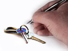 Hand pen keys