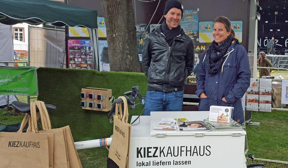 Kiezkaufhaus: Ökologie aus Wiesbaden