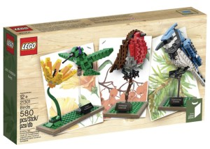 Lego Bird Kit - Robin, Hummingbird, Blue Jay