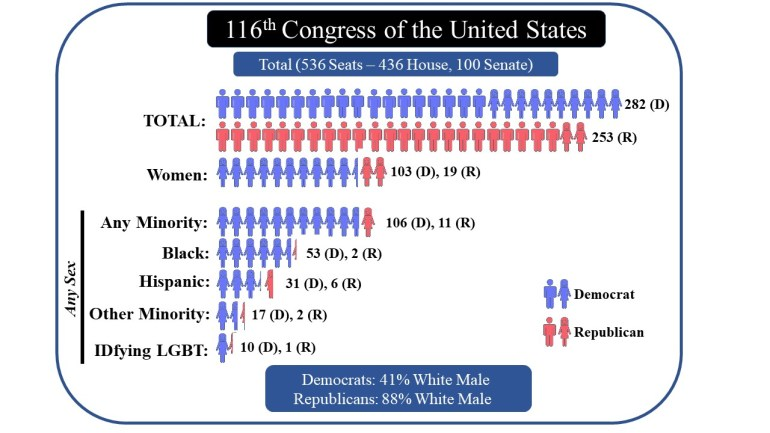 116th US Congress - Demographics