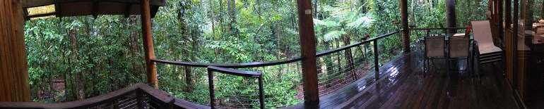 Canopy Treehouses near Tarzali, Australia - Deck/outside overview