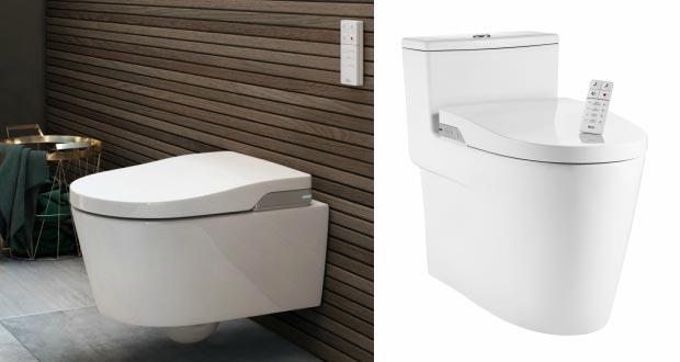 in wash de roca un wc lavant suspendu