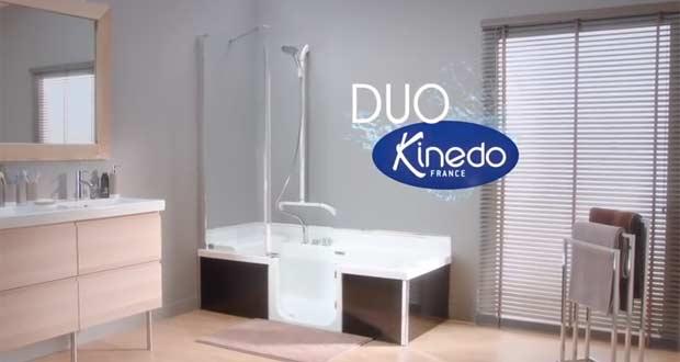 Kinedo Offre Une Campagne Tl La Baignoire Douche Porte