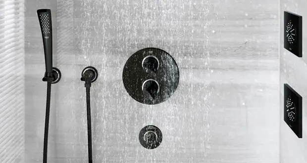 mitigeur de douche encastre mode d
