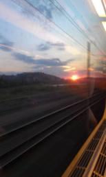 Západ Slunce nad Marseille