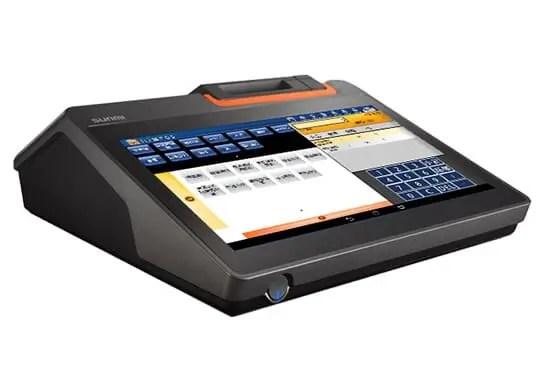 T2|11.6吋桌上型觸控主機|SD POS|新達商業機器
