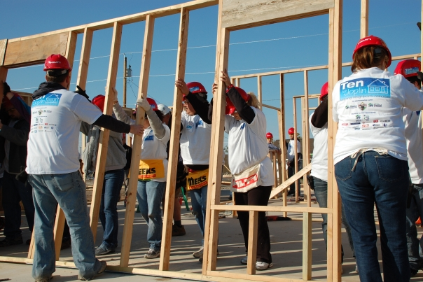 5 ways to give back to your community miss millennia magazine big sister advice for millennials for Construction habitat
