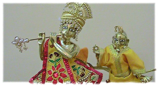 Радха Кришна - новые божества Сатсварупы даса Госвами