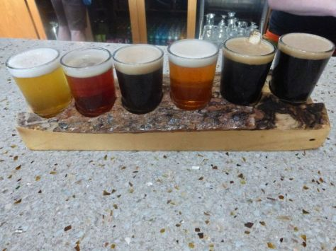 Basecamp taster flight.
