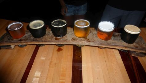 Taster flight at Ironfire.