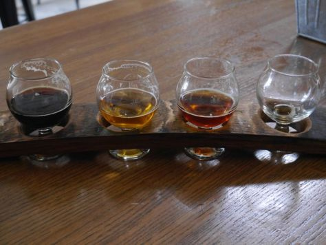 My taster flight.