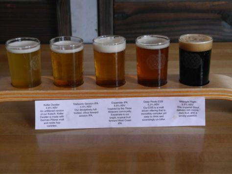 Core Beers Flight.
