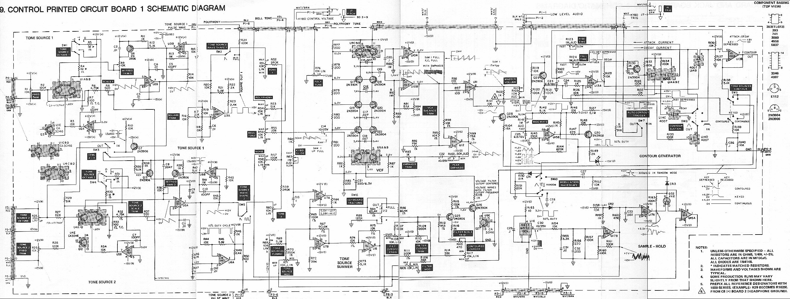 Wrg Radio Shack Schematic Diagrams