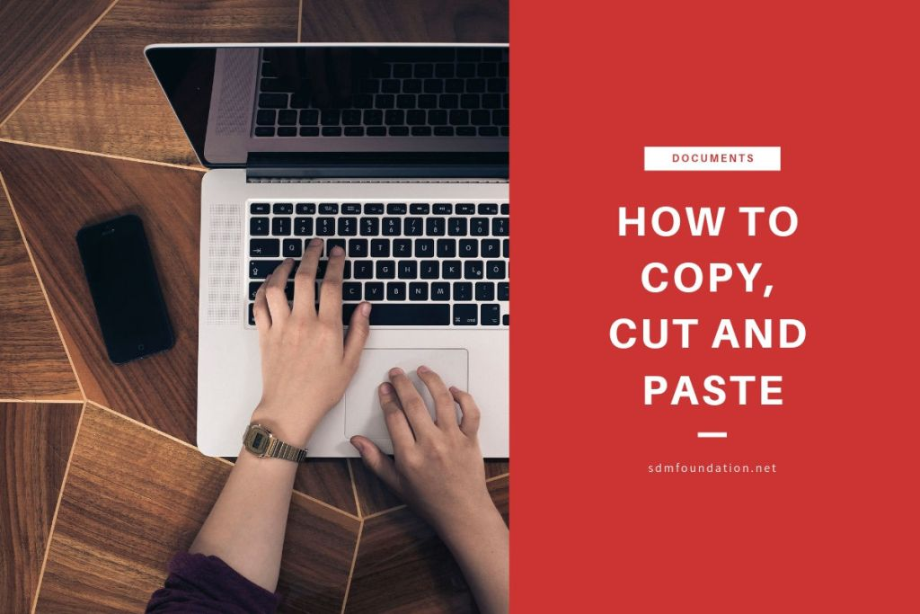How to copy cut and paste - Featured Image