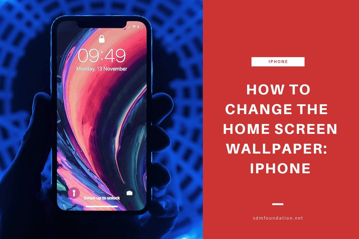 How to change the home screen wallpaper - iphone - Featured Image
