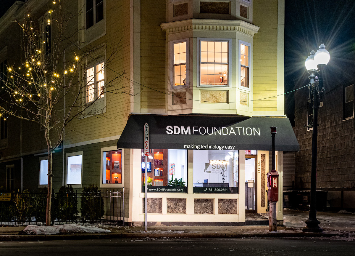 Evening picture of 406 Main St