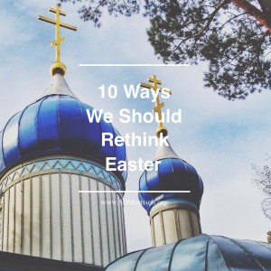 10 ways easter