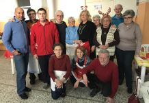 Festa al centro Anziani per il Natale della Madonna Pellegrina di Novara