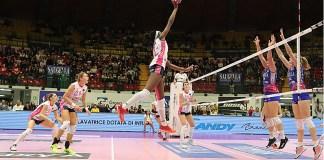 Igor Volley sconfitta a Monza al tie break