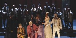 Il cast del don Giovanni alla prima di Spoleto