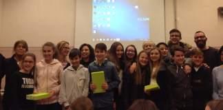 La scuola media Castelli si aggiudica il premio per la realizzazione di un booktrailer: premiazioni alla biblioteca di Cameri