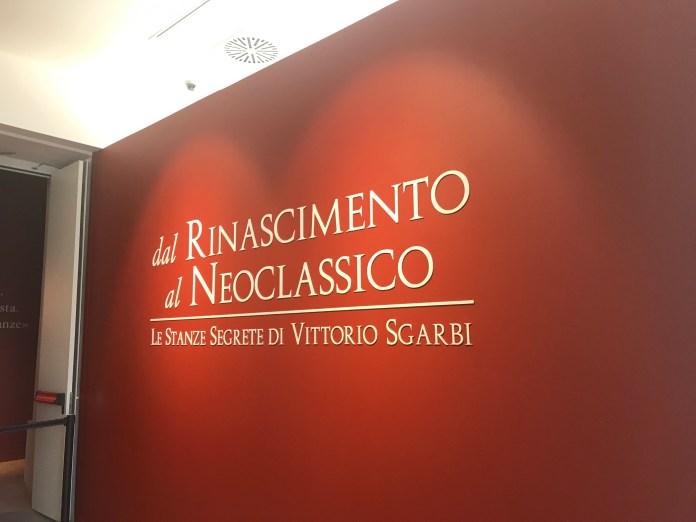 Mostra di Sgarbi a Novara fino al 22 gennaio