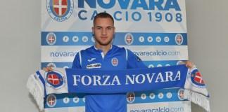 Novara calcio, preso Puscas, giocatore di proprietà dell'Inter