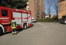 Intervento dei Vigili del fuoco ad Arona per soccorrere un'anziana