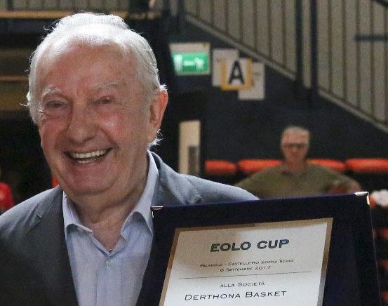 Scomporso Luciano Giani della Magic Oleggio Basket