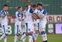 Bari-Novara 1 a 1. Negato un rigore agli azzurri