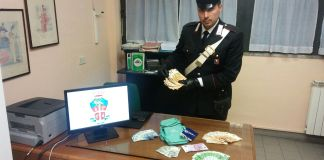 carabinieri stresa con refurtiva