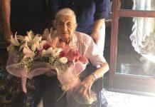 Annamaria Gregotti, festa per i 105 anni