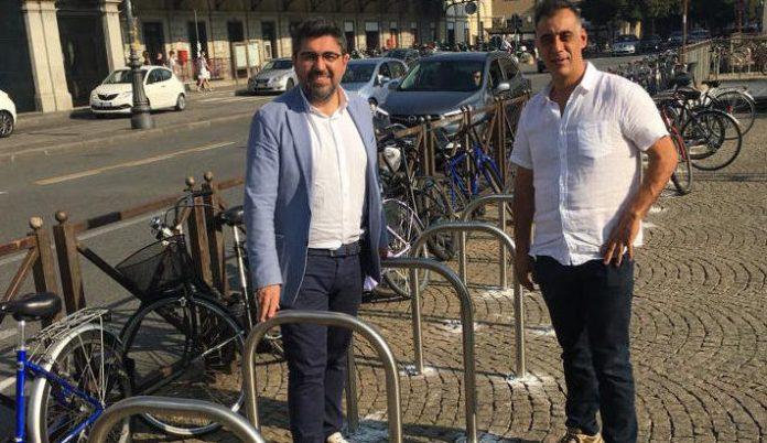 Nuovi 108 stalli per le biciclette a Novara