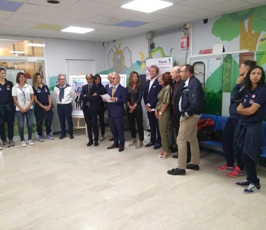 Inaugurata l'aula didattica di pediatria dell'Ospedale Maggiore