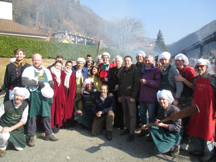 Un momento del carnevale di Varallo