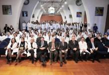 La cerimonia del Camice bianco