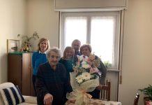Festa per i 101 anni di Augusta Rosolon