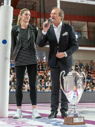 Igor Volley Novara Campione d'Europa, la festa al Pala Igor