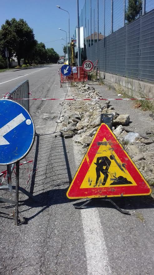 Novara, Marciapiedi, in arrivo lavori per 550mila €