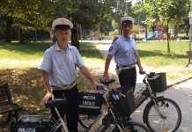 Pattuglie Polizia locale in bicicletta a Novara