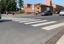 Le strisce pedonali a Novara diventeranno in 3D