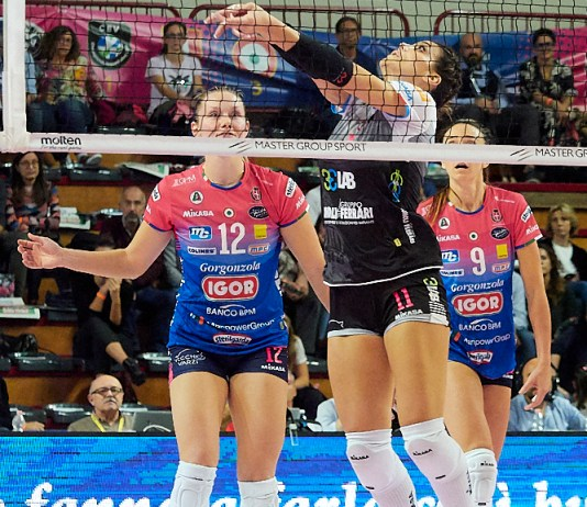Igor Volley Novara-Brescia 2 a 3
