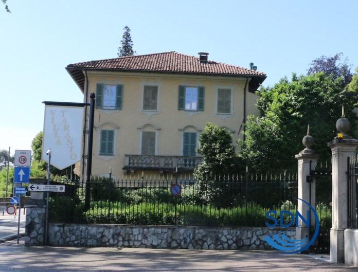 La sede provvisoria della biblioteca civica di Verbania