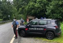 Posto di blocco dei Carabinieri di Premia