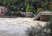 Crollo ponte di Romagnano