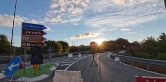 Grignasco, ponte Sesia chiuso