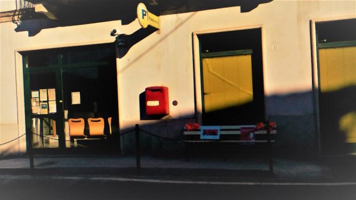 L'ufficio postale di Maggiora