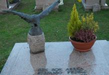 tomba del generale Fedeli a Baveno
