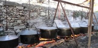 La paniccia di riso è il piatto tradizionale del Carnevale in Valsesia